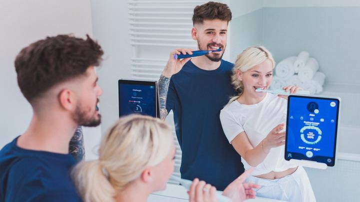 spazzolino elettrico smart hinnovation app