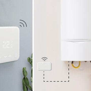 termostato smart wireless tado