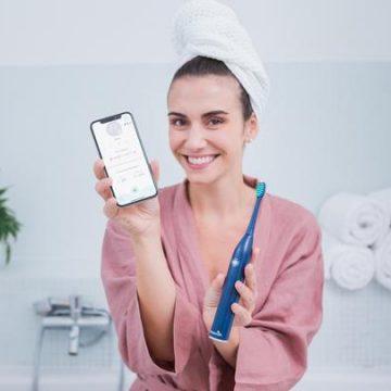 spazzolino elettrico smart playbrush