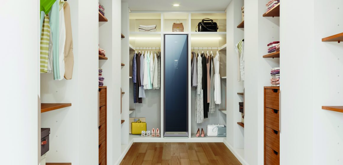 La cabina armadio igienizzante Samsung AirDresser™