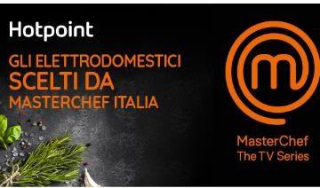 MasterChef Italia sceglie Hotpoint: da stasera su Sky e NOW TV