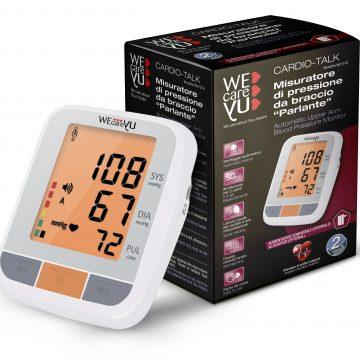 """Cardio Talk, il misuratore di pressione che """"parla"""""""