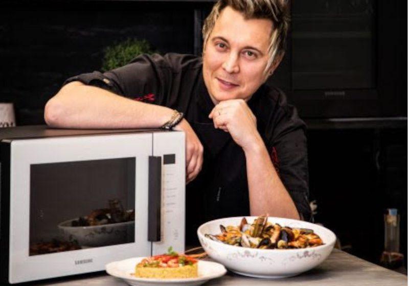 San Valentino a tutto vapore con Samsung e lo Chef Andrea Mainardi