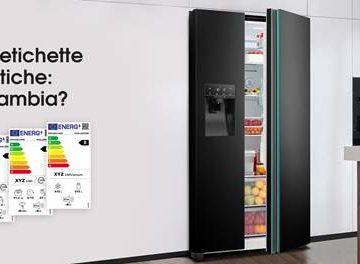 Etichette Energetiche: Hisense guida l'utente nel cambio della normativa