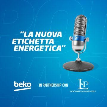 Beko arriva in podcast (e vi spiega le etichette energetiche)