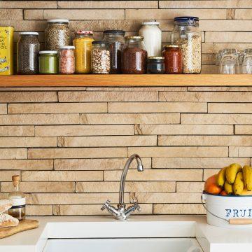 10 trucchi per far sembrare più grande, una cucina piccola