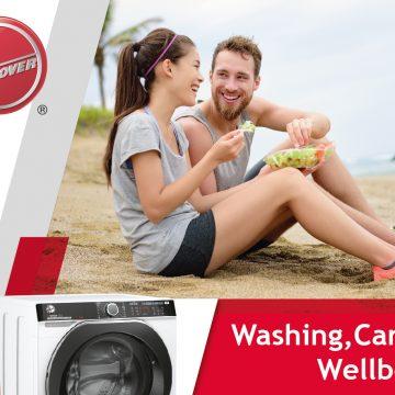 "Hoover lancia la promozione ""Washing, caring, wellbeing"""