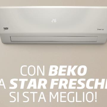 Stai fresco con Beko: parte la nuova promozione