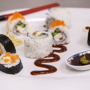 Sushi roll con branzino di Dimitra Panagiotopoulou