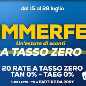 """""""Summerfest"""": il festival della tecnologia di Euronics"""