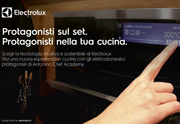 """Electrolux nell' """"Antonino Chef Academy"""" di Cannavacciuolo"""