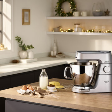 Kenwood lancia Titanium Chef Baker XL: lo stile in cucina