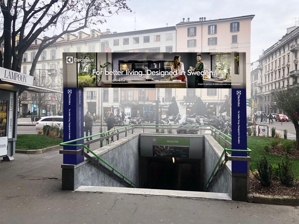 Moscova entrata