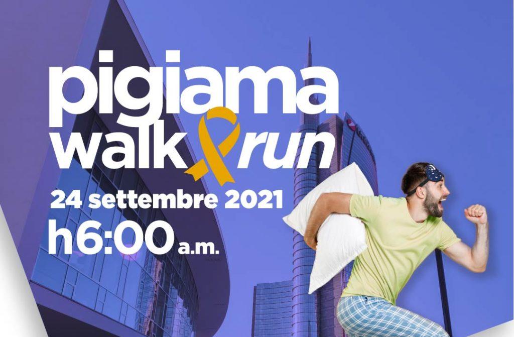 Euronics sostiene per il 6° anno la LILT, alla Pigiama Walk&Run